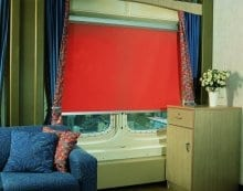 Photo - CASSLITE fabric roller shade