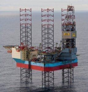 Maersk Resilient rig photo