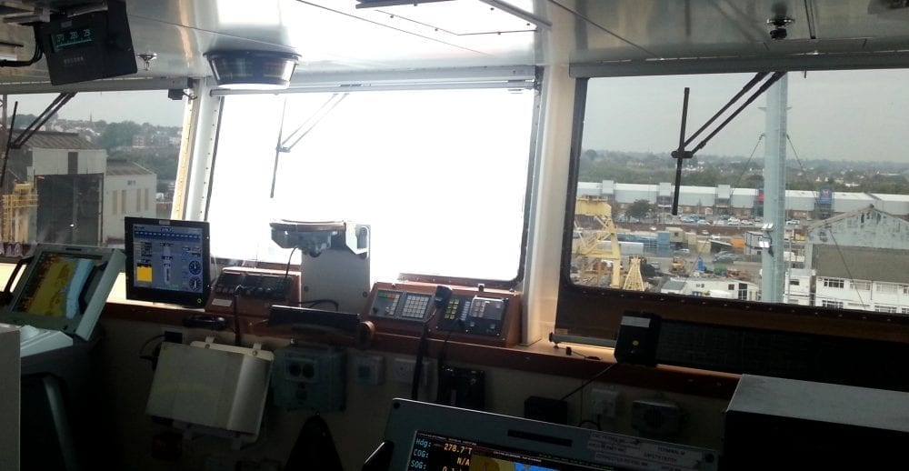 Photo - SOLASOLV on naval vessel